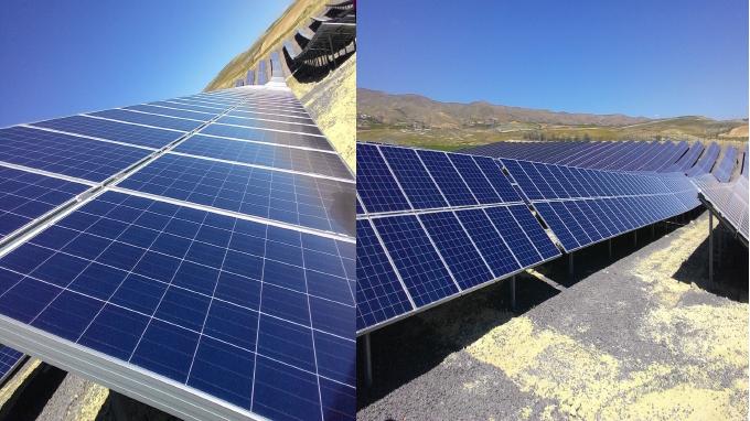 Güneş Santrallerinin montajı ve devreye alınması